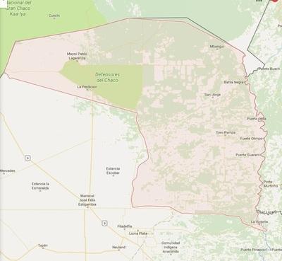 """Atacan dos estancias en el Chaco, vestidos de """"para para'i"""""""