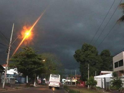 Anuncian tormentas para varios departamentos del país