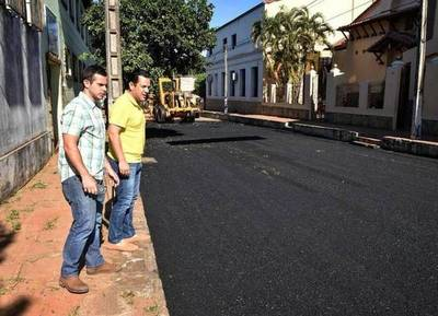 Friedmann verificó las obras de recapado en Villarrica