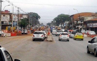 Obras del metrobús afectarán aun más tráfico en Fernando