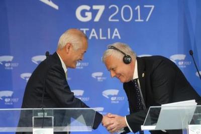 Cumbre del G7 respalda el Acuerdo de París