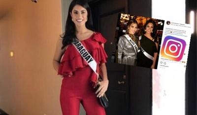 """Ariela Machado Y Su Encuentro Con La Actual """"Miss Universo"""""""
