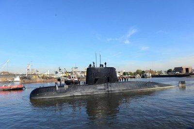 Sin rastros del submarino argentino perdido en el Atlántico Sur