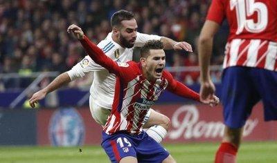 Atlético y Real Madrid dejaron en cero un derbi frustrante