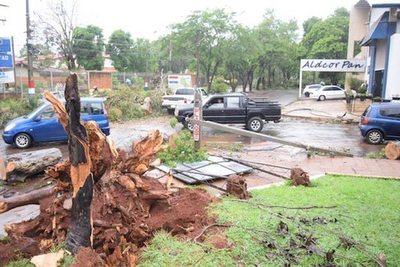 950 familias afectadas con el temporal