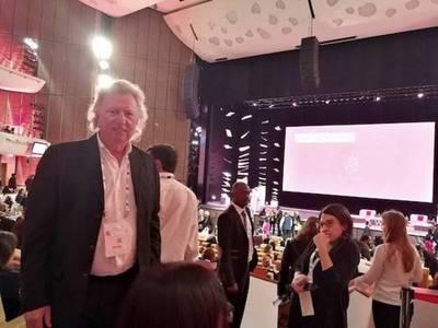Luis Szarán en la Cumbre Mundial para la Innovación en Educación