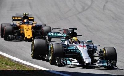 Hamilton y Vettel los más exitosos en Abu Dabi