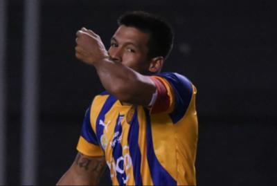 """Dos Santos vuelve a la Olla: """"Si marco un gol…"""""""