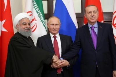 Rusia, Irán y Turquía se atribuyen fin de la guerra civil y llaman a cumbre para definir futuro de Siria