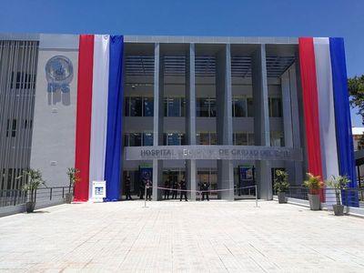 IPS inaugura oficialmente obra del Hospital Regional de Ciudad del Este