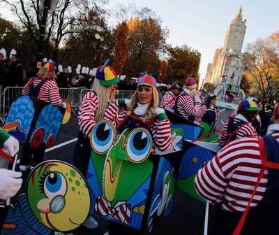 Estadounidenses celebran el Día de Acción de Gracias