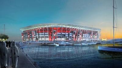 El primer estadio completamente desmontable se inaugurará en Qatar 2022