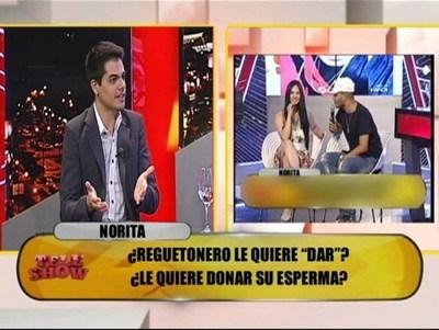 El hijo de Norita no quiere al colombiano que quiere embarazarla