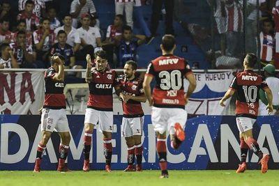 Sudamericana: Flamengo ganó a Junior y disputará final con Independiente