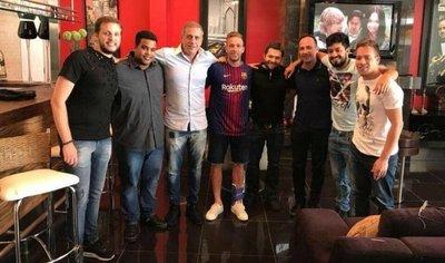 Gremio demandará al Barça tras polémica foto de Arthur