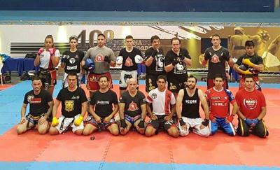 Sobresalen en Sudamericano de Kick Boxing