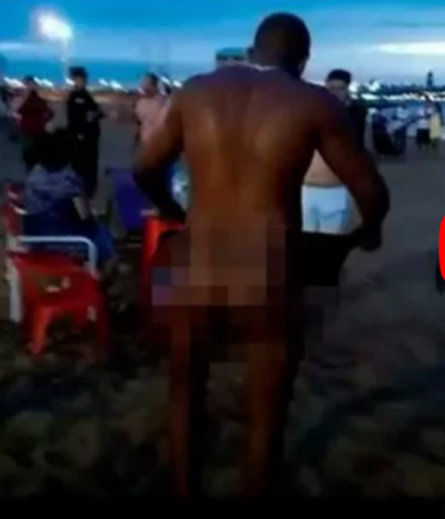 Echan del país al nudista de Encarnación