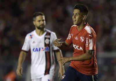 Independiente toma mínima ventaja ante el Flamengo