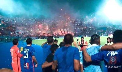 Los minutos finales y la consagración de Cerro Porteño