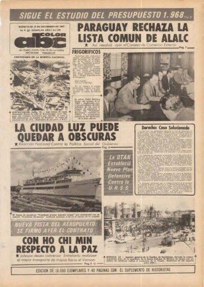 13 de diciembre de 1967