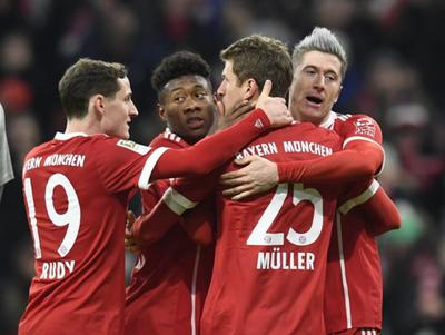 Bayern Múnich es líder indiscutible de la Bundesliga
