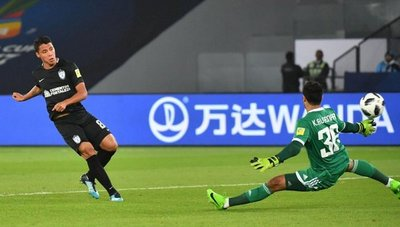 Pachuca derrotó a Al Jazira y terminó tercero