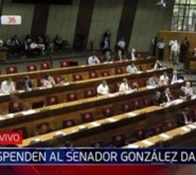 Senado trata revocación de González Daher como miembro del JEM