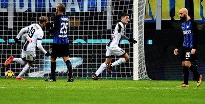 Inter sufre su primera derrota del año