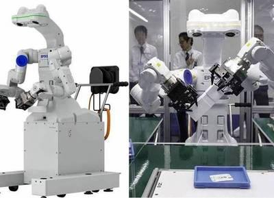 """EPSON exhibió su nuevo robot autónomo con capacidad para """"ver, sentir, pensar y trabajar"""""""