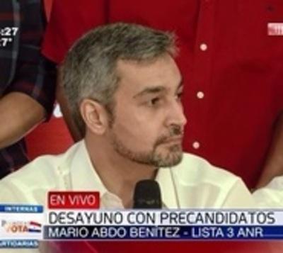 """Marito: """"No vamos a abrazarnos con la impunidad"""""""