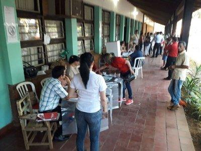 Locales prestos en Villarrica para la votación