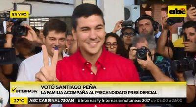"""Peña: """"Que sea una fiesta"""""""