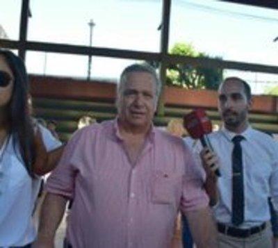 """González Daher fue a votar: """"No tengo nada que decir"""""""