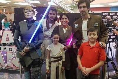 """La fuerza oscura se """"apoderó"""" del preestreno de Star Wars: Los Últimos Jedi"""