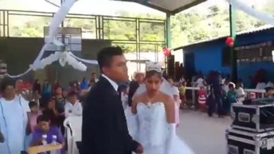 VIDEO: La boda mas triste del mundo se realizó en México