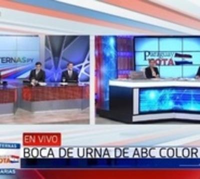 El candidato que lidera 'Boca de Urna' está abajo en Asunción