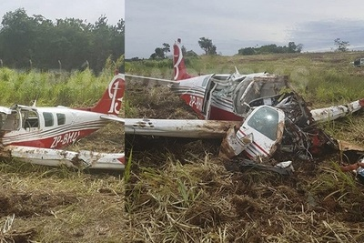 Accidente aéreo deja un fallecido en Itapúa