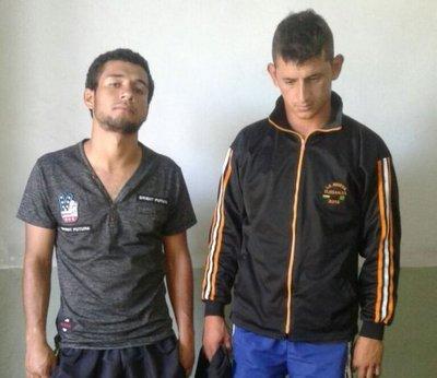 Detienen a dos supuestos motochorros en Yaguarón