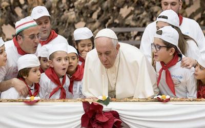 El papa Francisco cumple hoy 81 años