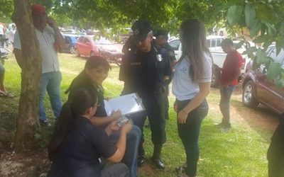 Pillaron a una doña comprando votos en Acahay