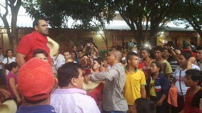 Tigre Ramírez se proclama ganador en Canindeyú