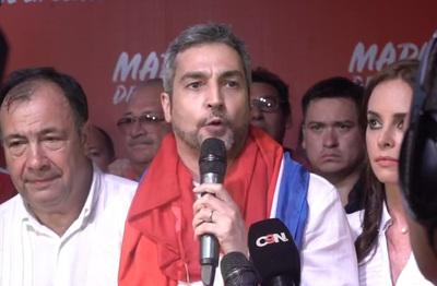 """Mario Abdo Benítez: """"Este es el momento de la gente"""""""