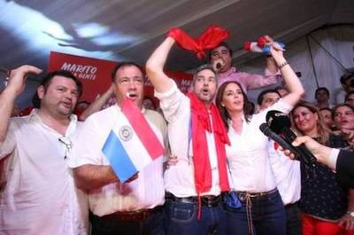 """Marito festeja su victoria y agradece apoyo: """"Desde mañana todos somos Lista 1"""""""