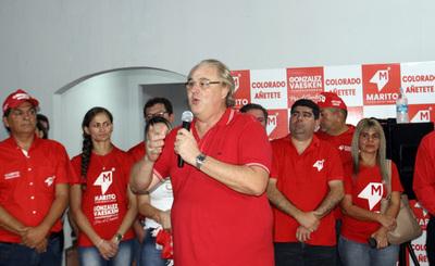 González Vaesken se proclama ganador en Alto Paraná
