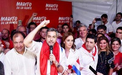 Marito le gana a Santi y derrota a Horacio Cartes