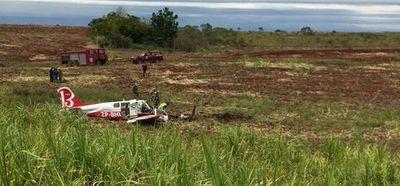 Piloto de aviación falleció en accidente aéreo en Encarnación