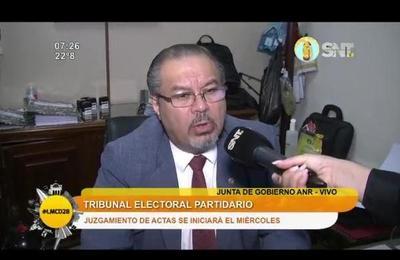 Tribunal electoral partidario