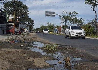 La zona top de Asunción sumida en el abandono por la Municipalidad