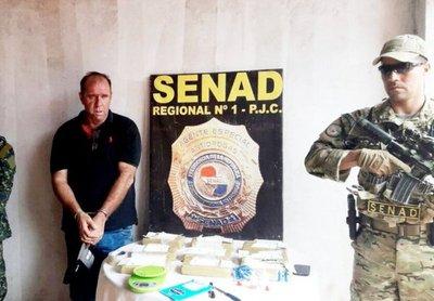 Cae brasileño con más de 9 kilos de cocaína