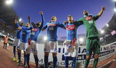 El Napoli asume el liderato tras vencer a la Sampdoria